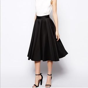 ASOS | Full Skater Skirt in Scuba